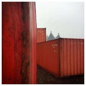Russisch-Orthodoxe Kirchtürme auf der Trabrennbahn Bahrenfeld Hamburg
