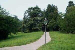 ein Weg in Baden-Baden