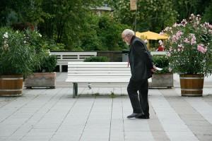 Sophienstraße Baden-Baden älterer Mann