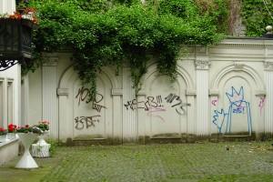 Schanzenstraße in Hamburg, ein Hinterhof