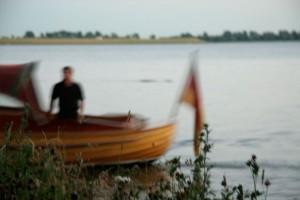 Tucker-Boot von der Elbe bei Blankenese